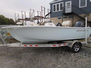 New Sportsman 17' Island Reef Center Console Fishing Boat For Sale