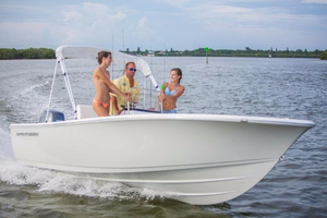 New Sportsman 19' Island Reef Center Console Fishing Boat For Sale