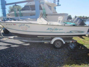 Used Key Largo 180 CC Center Console Fishing Boat For Sale