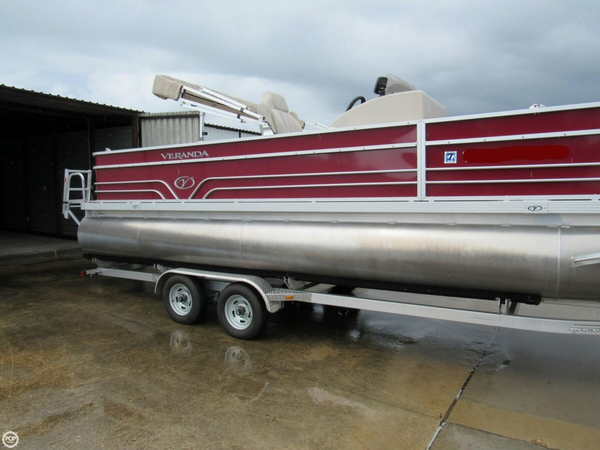 Used Veranda V2275 F4 Pontoon Boat For Sale