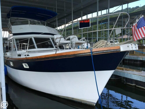 Used President 41 Double Cabin Trawler Boat For Sale