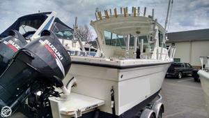 Used Baha Cruisers GLE 251 WA Walkaround Fishing Boat For Sale