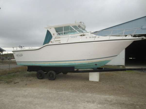 Used Baha Cruisers 286 SF HT Freshwater Fishing Boat For Sale