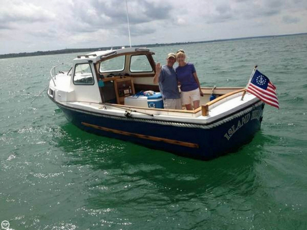 Used Romany 21 Downeast Fishing Boat For Sale