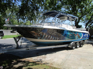 Used Cobia 312 Sport Cabin Walkaround Fishing Boat For Sale