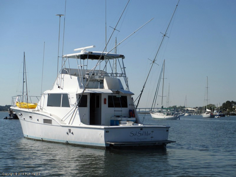 1974 used hatteras 53 sports fishing boat for sale