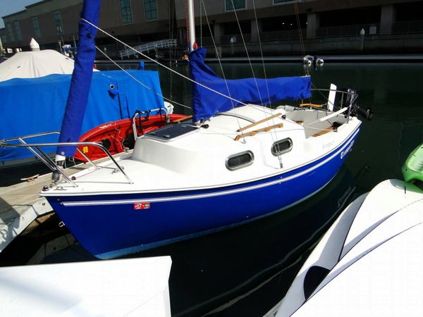 Used Sanibel 18 Daysailer Sailboat For Sale