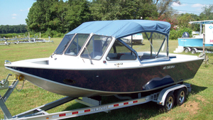Used North River 22 Commander Aluminum Fishing Boat For Sale