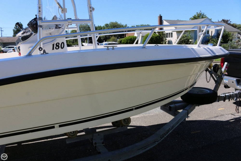 2005 used angler 180 cc center console fishing boat for for Angler fishing boat