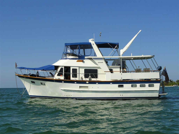 Used Defever 44 Trawler Motor Yacht For Sale