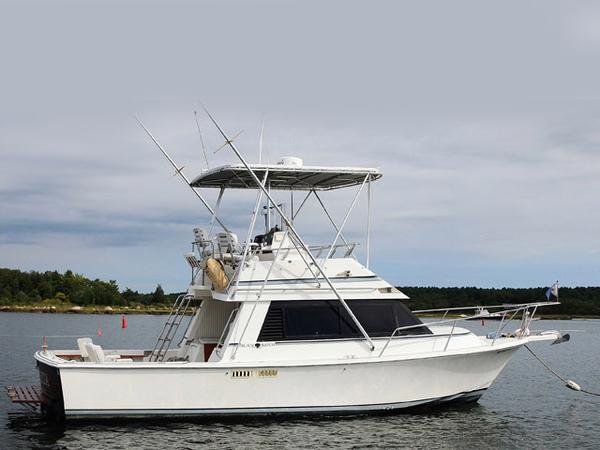 Used Black Watch Flybridge Boat For Sale