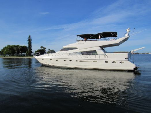 Used Johnson / High Tech Hatteras Lazzara Viking Motor Yacht For Sale