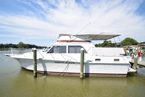 Used Uniflite 42 Double Cabin Motoryacht Motor Yacht For Sale