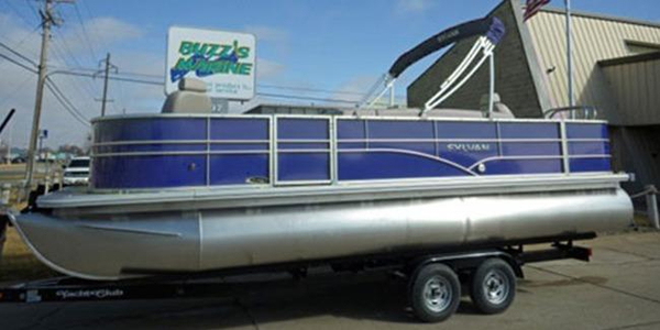 New Sylvan 8522 Mirage Fish-n-Cruise Pontoon Boat For Sale