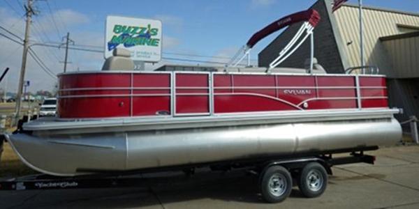 New Sylvan 8522 Mirage Fish-n-Cruise Pontoon Boat For Sale