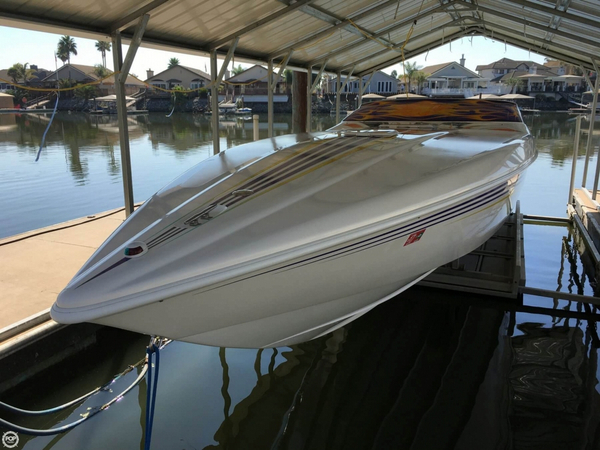 Used Sunsation 32 Dominator High Performance Boat For Sale