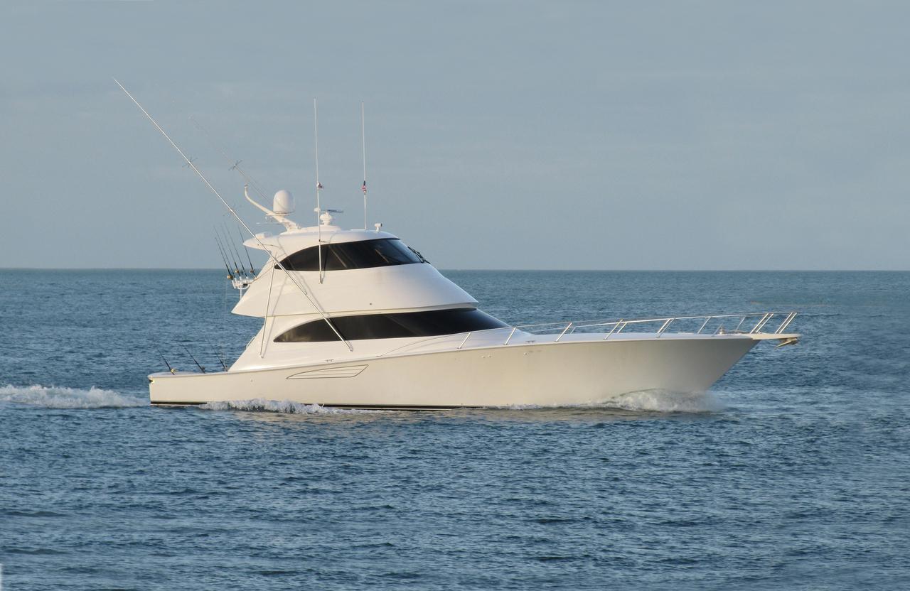 2013 used viking 62 enclosed bridge convertible fishing for Viking fishing boat