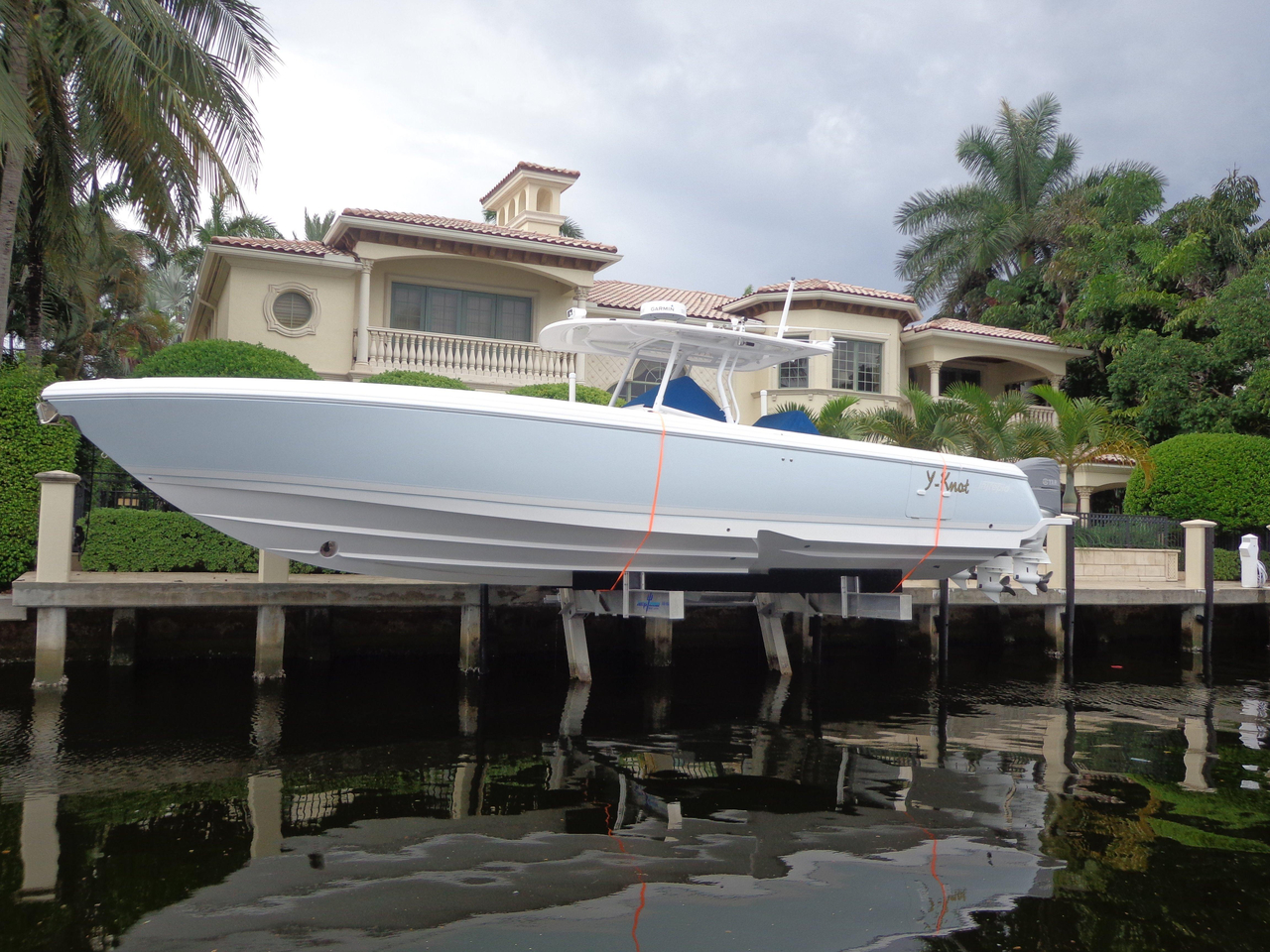 Used Intrepid 400 Center Console Fishing Boat For Sale