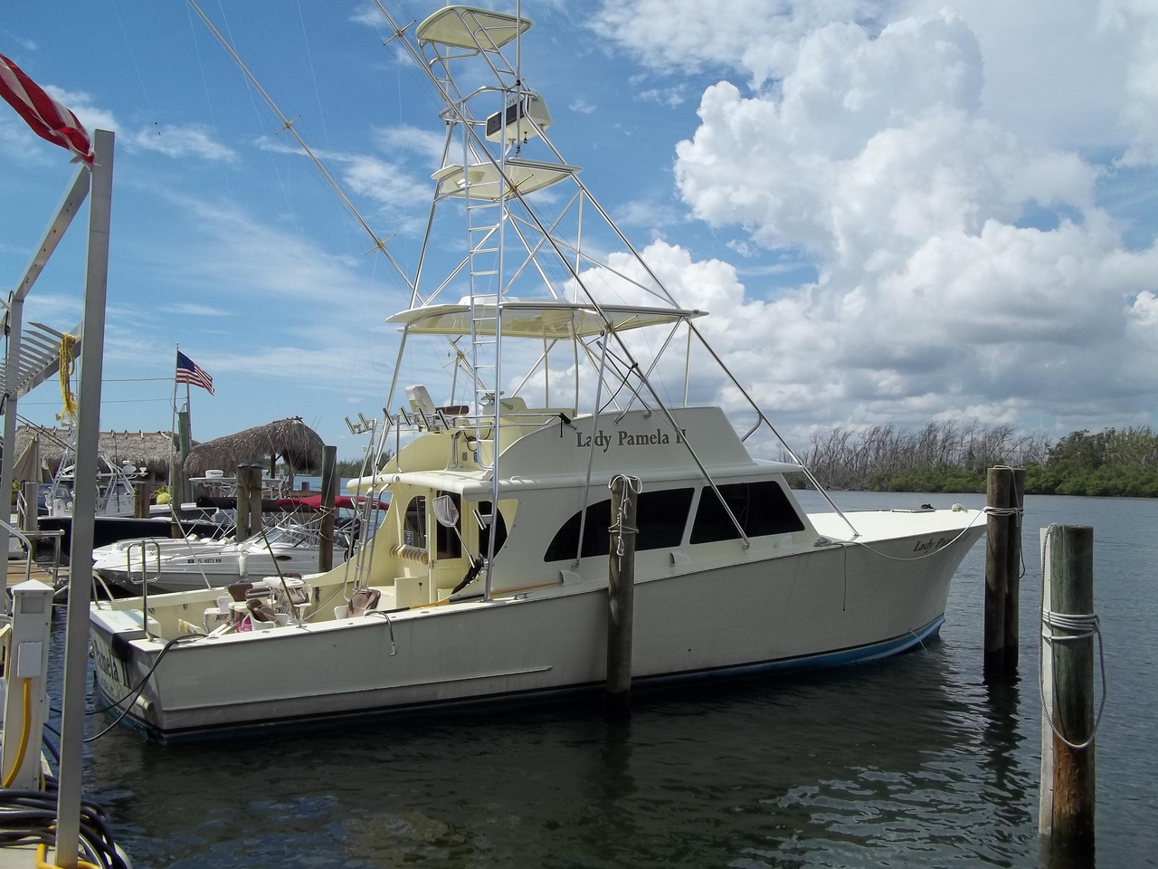 1968 used custom carolina lemay sportfish sports fishing for Sport fishing boats for sale by owner