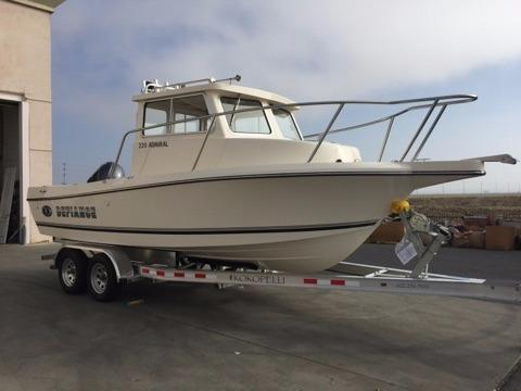 New Defiance 220 Admiral NT Saltwater Fishing Boat For Sale