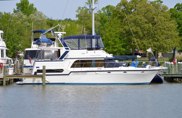 Used Jefferson 45 Cockpit Motoryacht Trawler Boat For Sale