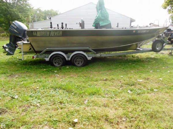 Used North River Seahawk 22 Aluminum Fishing Boat For Sale