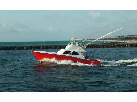 1992 used custom carolina buddy cannady sports fishing for Custom fishing boats