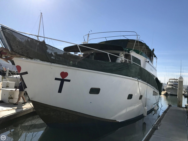 Used Shaw 57 Sportsfish Sports Fishing Boat For Sale