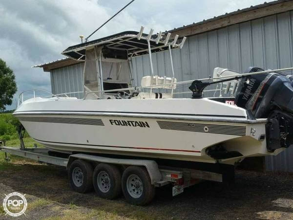 Used Fountain 31 Sportfish Center Console Fishing Boat For Sale