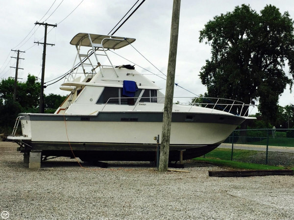 Used Silverton 34 Sedan Bridge Sports Fishing Boat For Sale