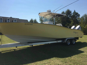 Used Cape Horn 31 TOURNAMENT Center Console Fishing Boat For Sale