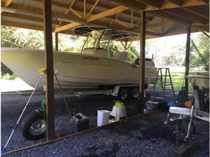 Used Scout Boats 260 Sportfish Saltwater Fishing Boat For Sale