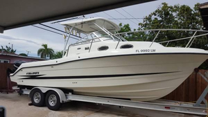 Used Hydra-Sports 2802 Walkaround Fishing Boat For Sale