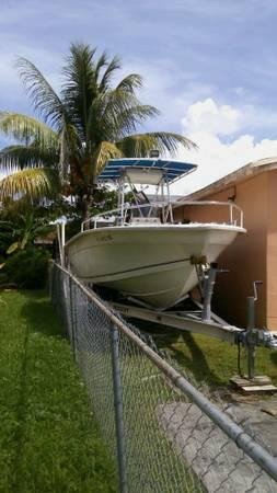 Used Sea Chaser 2100 CC Saltwater Fishing Boat For Sale