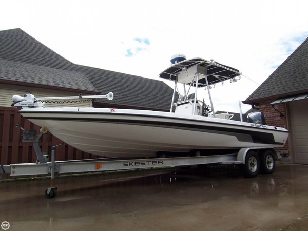 Used Skeeter 24ZX Bay 24 Center Console Bay Boat For Sale