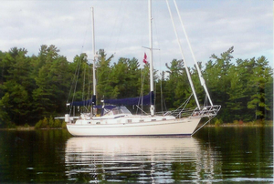 Used Hallbergrassy 41 Center Cockpit Sailboat For Sale