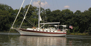 Used Gozzard 44 Cutter Cruiser Sailboat For Sale
