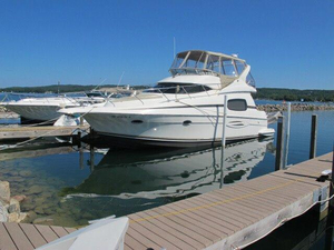 Used Silverton 410 Sport Bridge Convertible Fishing Boat For Sale