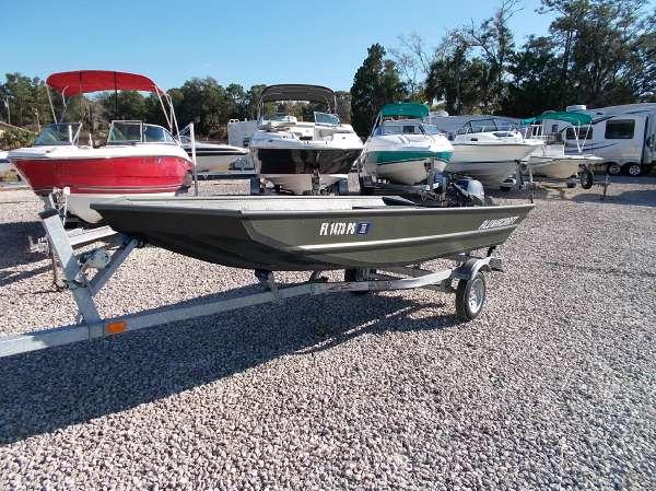 Used Alumacraft Jon Boat For Sale