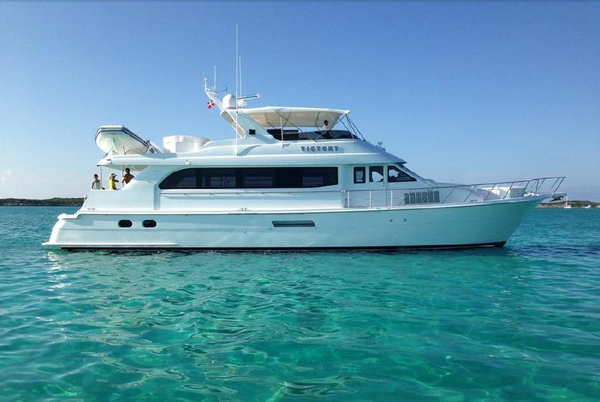 Used Hatteras 75 Cockpit Motor Yacht Motor Yacht For Sale