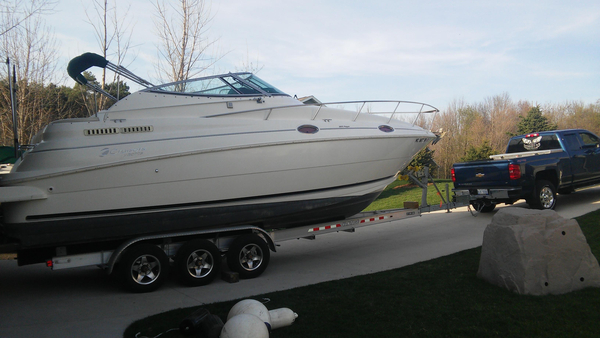 Used Cruisers Yachts 2870 Rogue Cruiser Boat For Sale