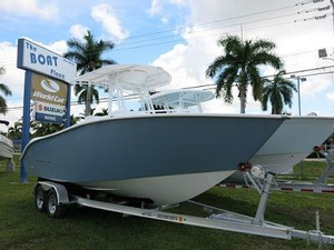 New Cape Horn 22 Off Shore Steel Blue Center Console Fishing Boat For Sale
