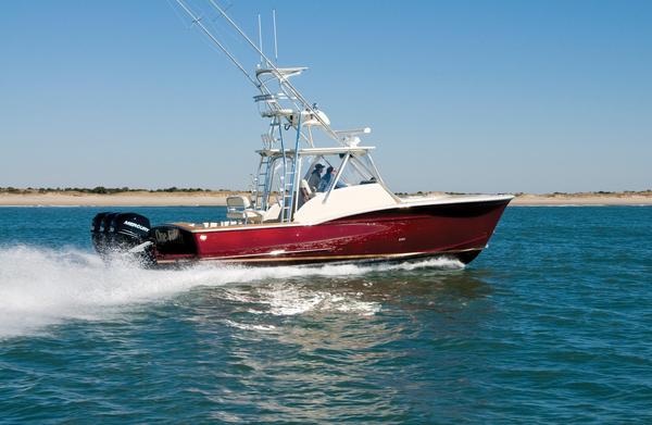 Used Jarrett Bay Walkaround Express Cruiser Boat For Sale