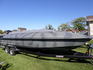 New Bankes Titian 25' Duck Boat Freshwater Fishing Boat For Sale