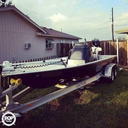 Used Stoner Custom Fury 23 Flats Fishing Boat For Sale