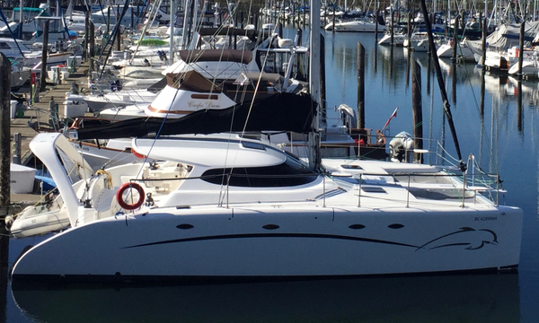 Used Fusion 40 Catamaran Sailboat For Sale