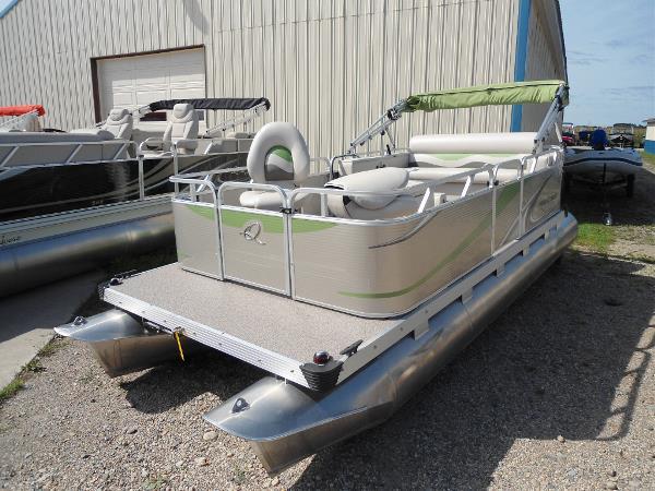 2013 used apex marine 615 fish n cruise pontoon boat for for Used fishing pontoon boats for sale