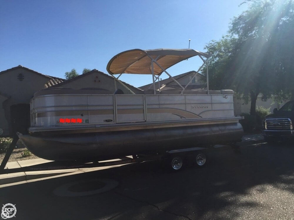 Used Sylvan Mirage 8520 Pontoon Boat For Sale