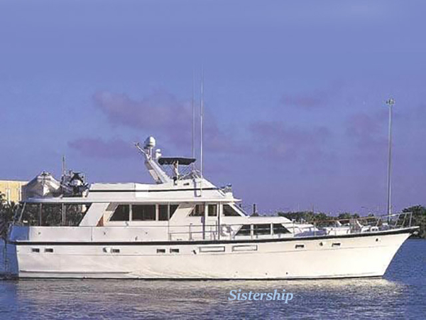 Used Hatteras 4 Stateroom Motor Yacht For Sale