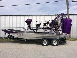 Used Alumitech 21 Air Boat For Sale